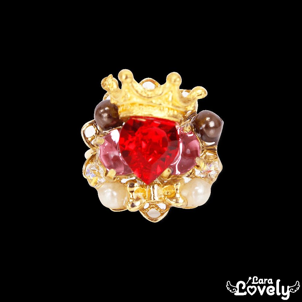 Heart bijou tiara ring(Valentine)