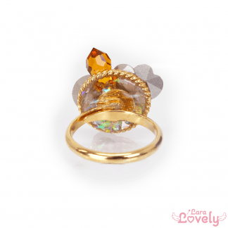 Jewel Princess ring(yellow)