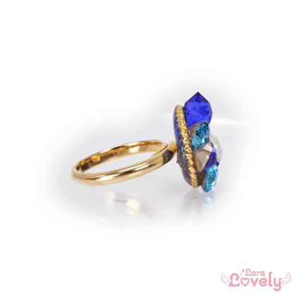 Jewel Princess ring(Blue)
