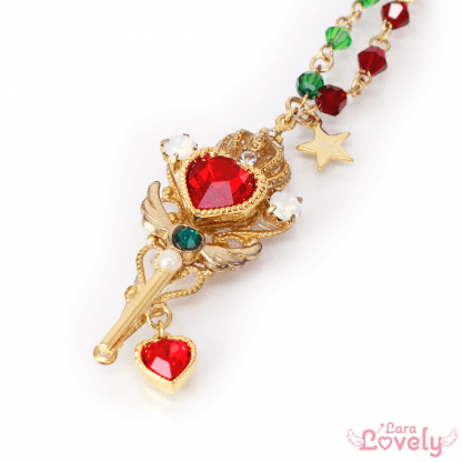Princess Tiara key(red)