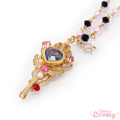 Princess Tiara key(black)