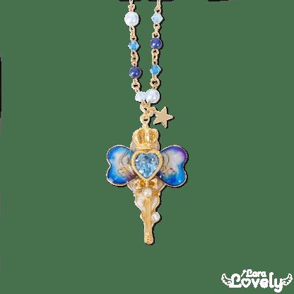 Magical ribbon key(blue)
