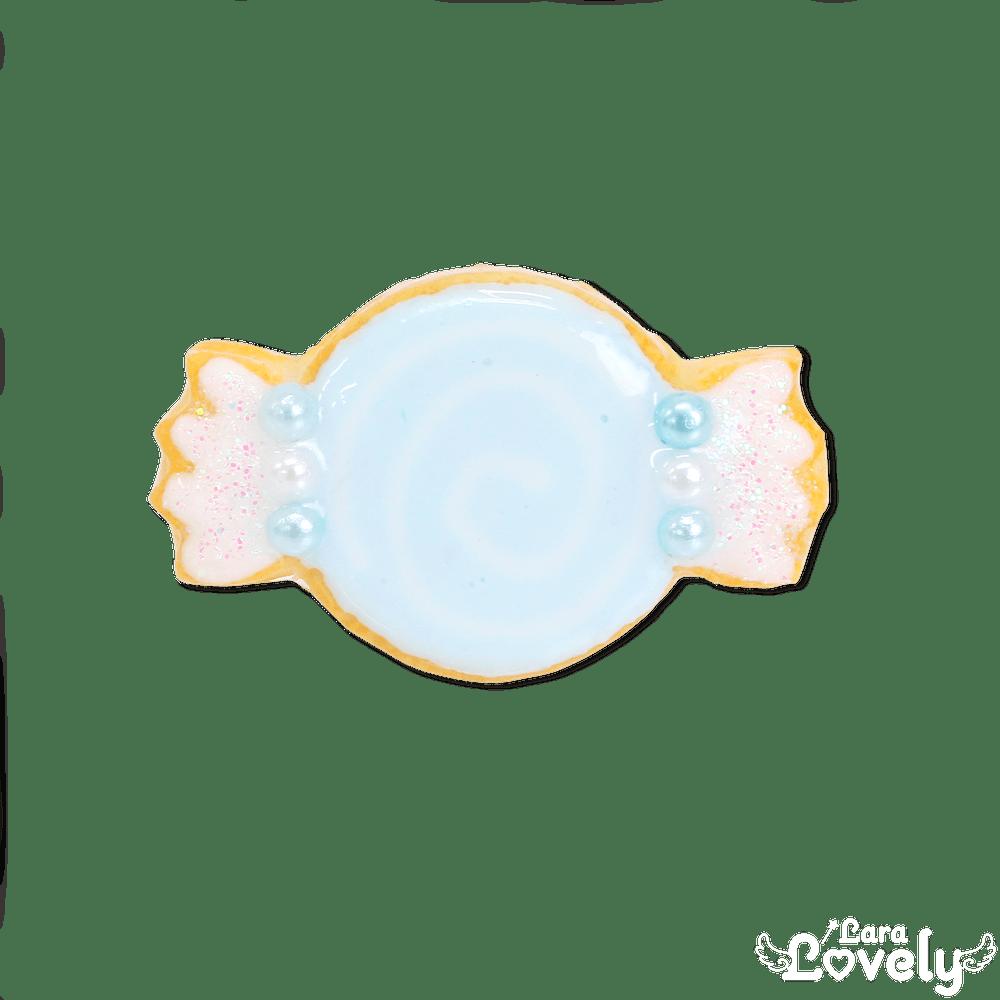 ゆめかわキャンディクッキーのリング(ブルー)