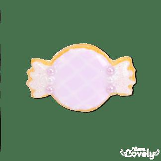 ゆめかわキャンディクッキーのリング(パープル)