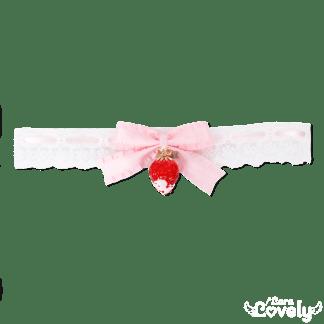 いちごレースチョーカー(ピンク)