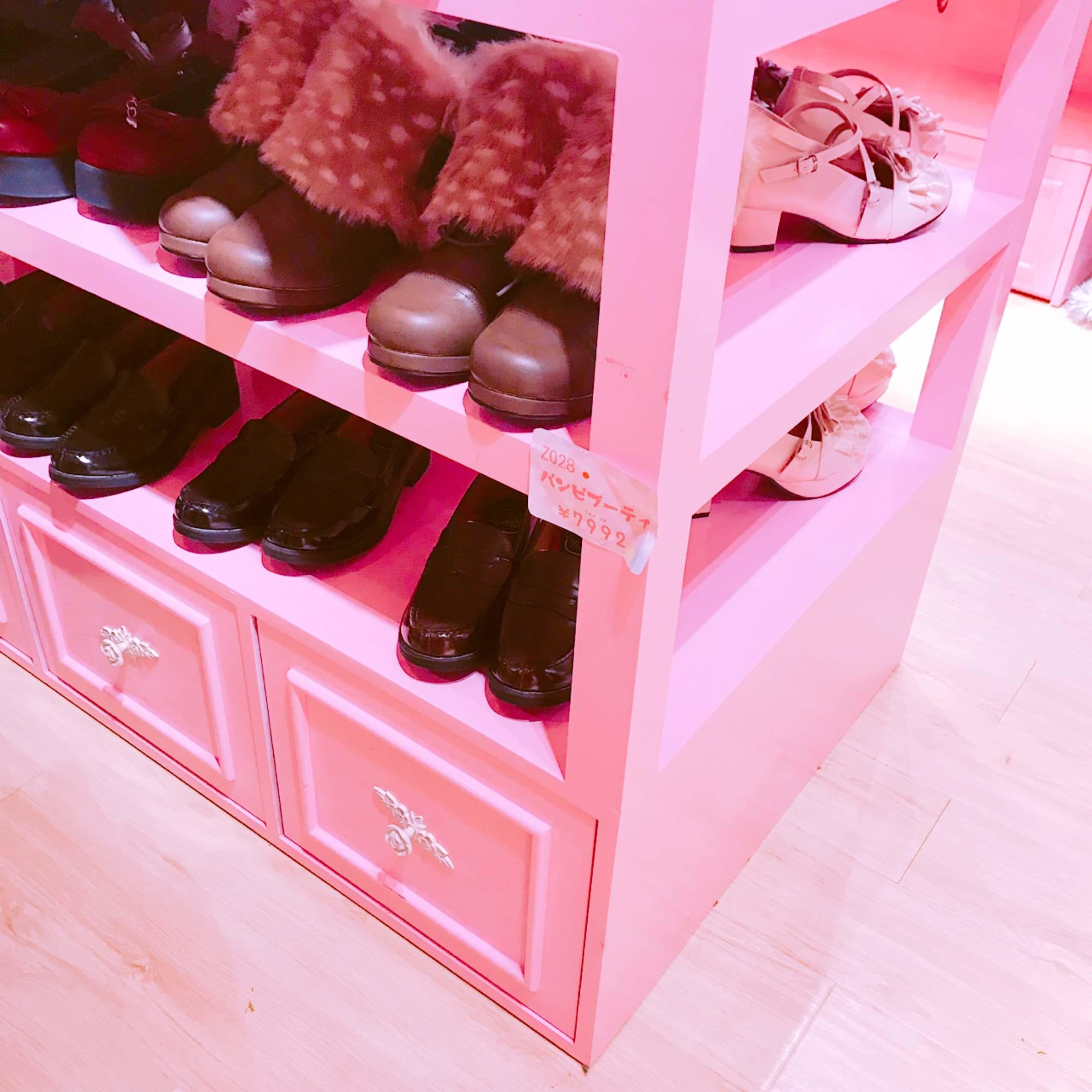 ゆめかわいい 靴
