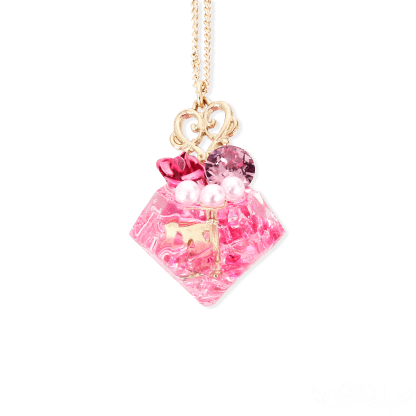プリンセス☆ダイヤネックレスピンク