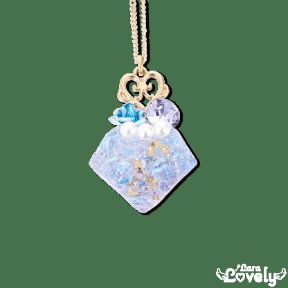プリンセス☆ダイヤネックレスライトブルー