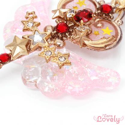 星空の鍵ネックレス(ピンク)