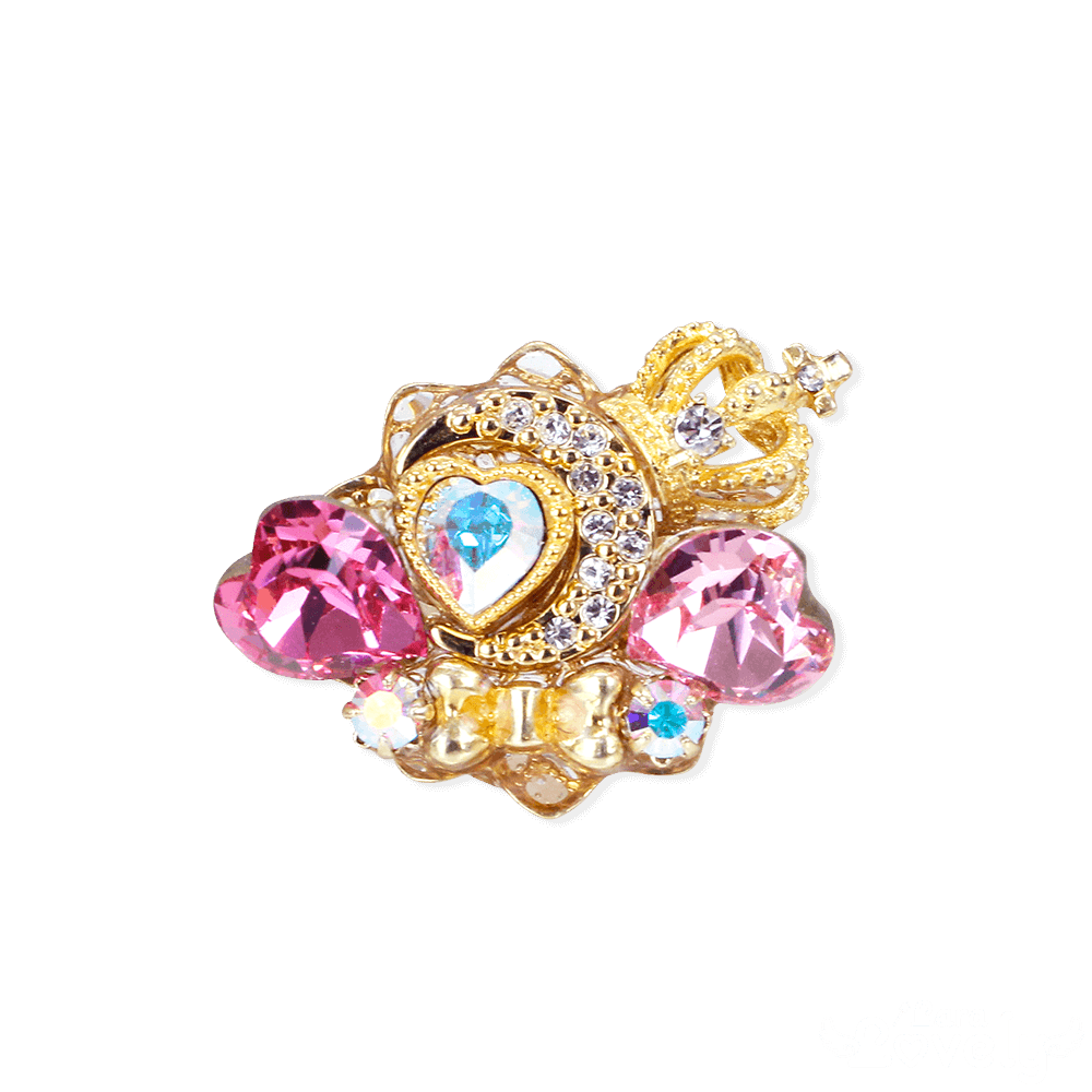 Princess Moon Tiara ring(pink)