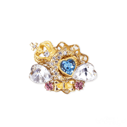 Princess Moon Tiara ring(white)