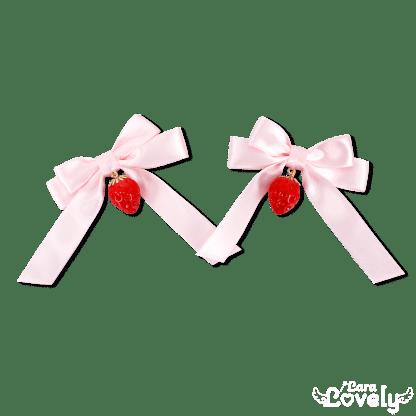みつあみリボン(ピンク)