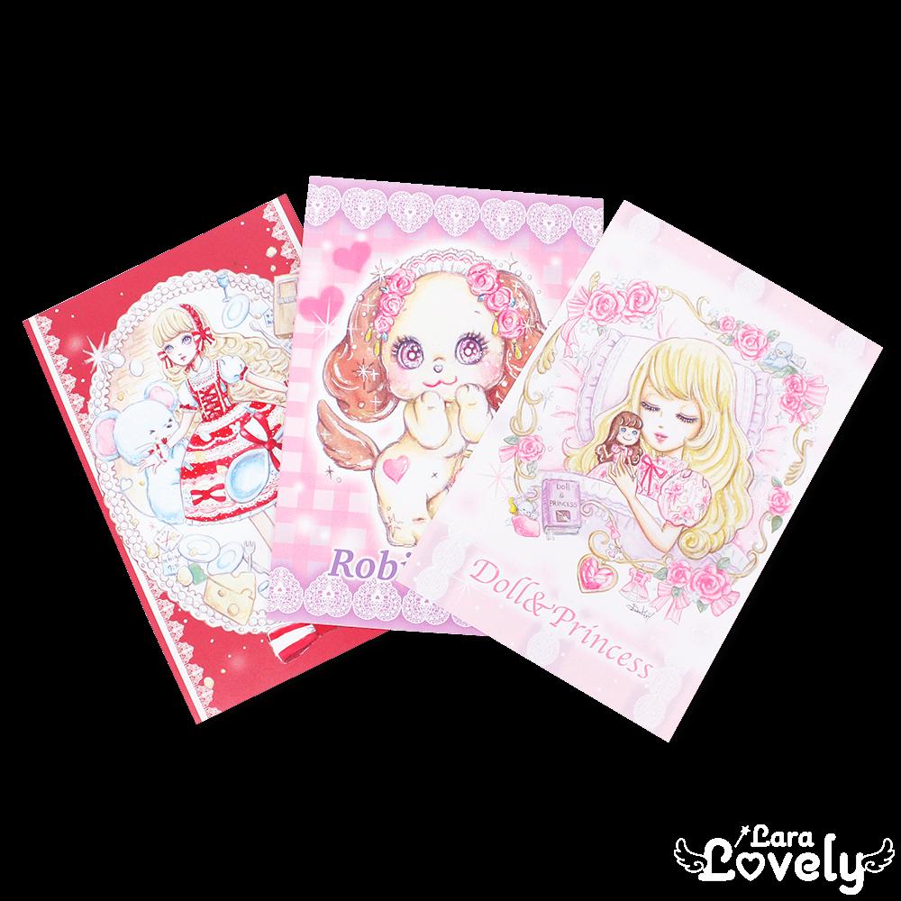 夢の招待状3枚 Bセット(両面印刷ポストカード)