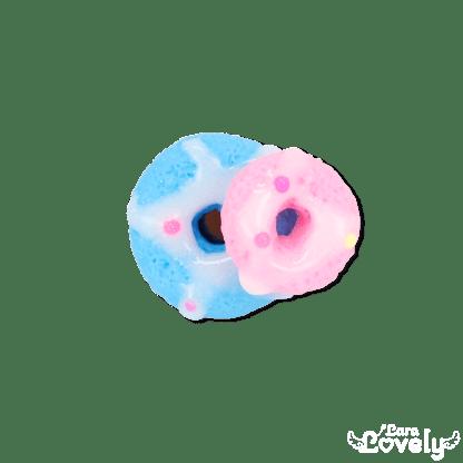 シリアル×コンデンスミルクリング ブルー×ピンク