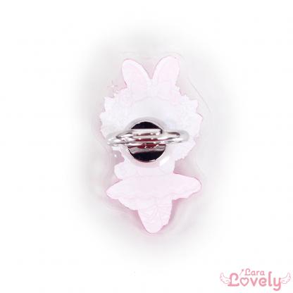 お姫様のための幸せの指輪(うさぎのホイップちゃんバレリーナver)