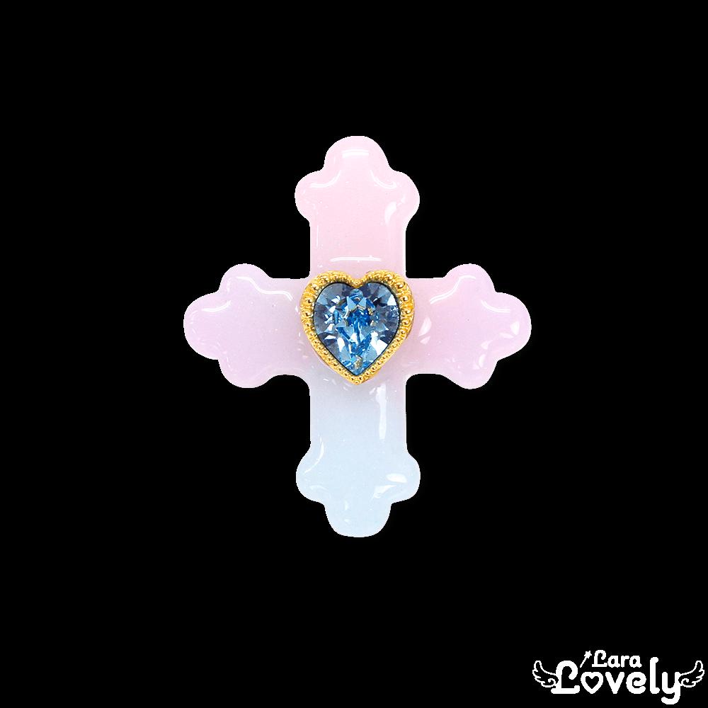 十字架リング(ゆめかわカラー)