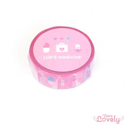 LOVE medicineマスキングテープ