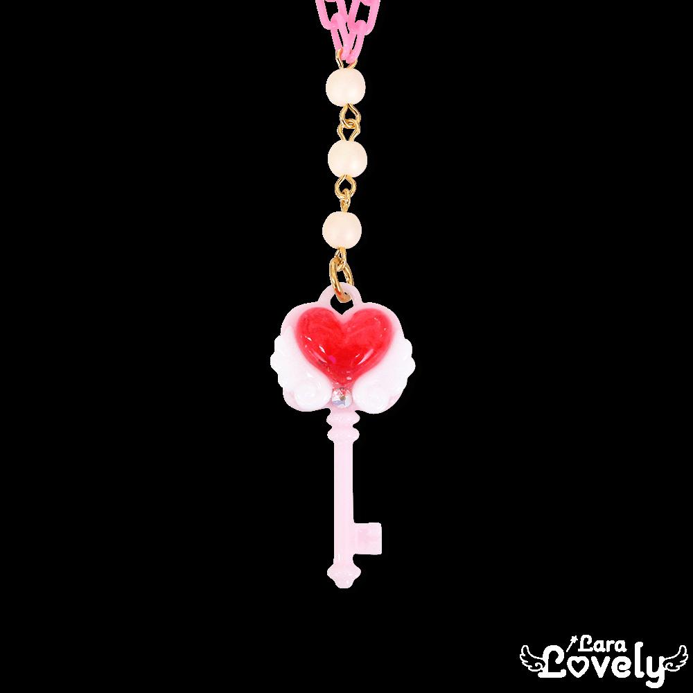 ひみつの鍵ネックレス