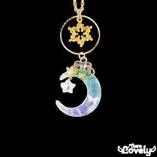 月雫の輝きネックレス