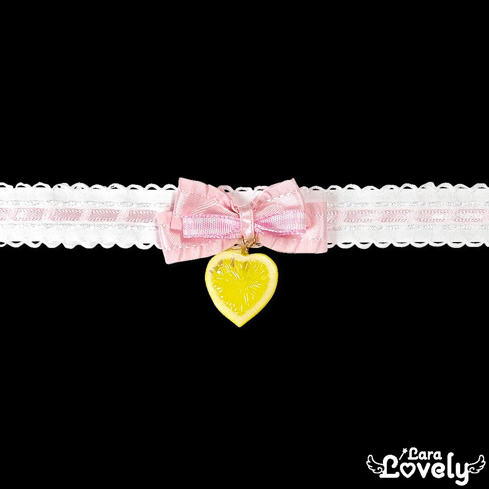 レモンチョーカー(ピンク)
