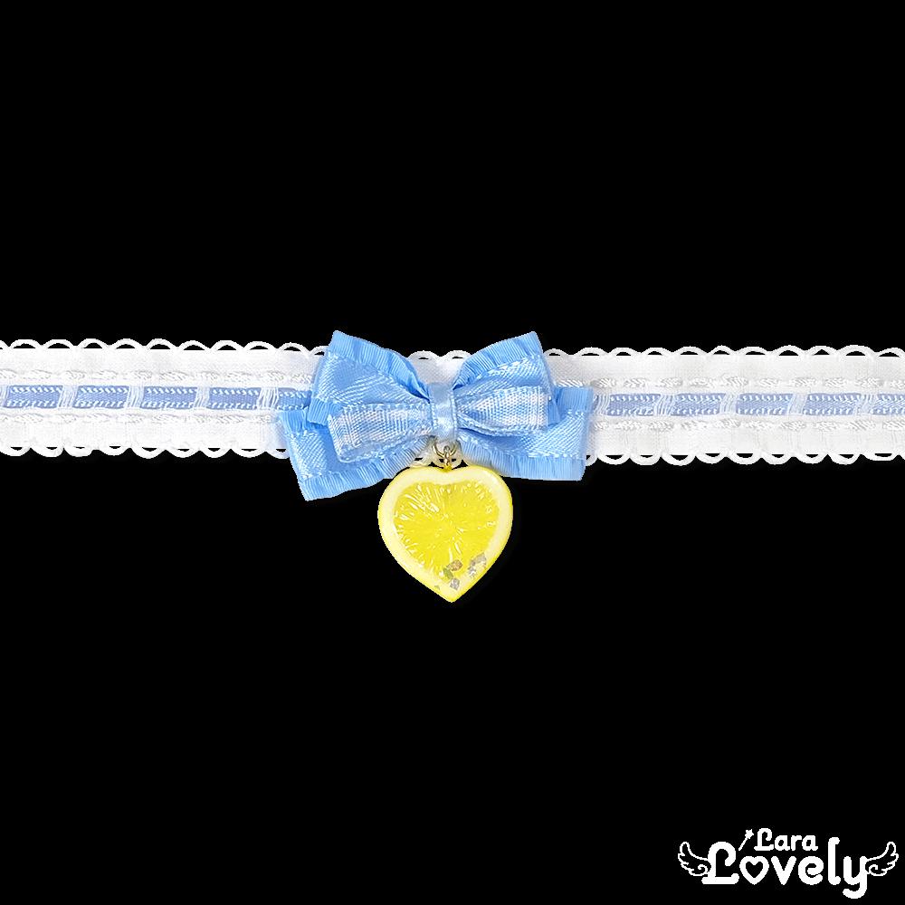 レモンチョーカー(水色)