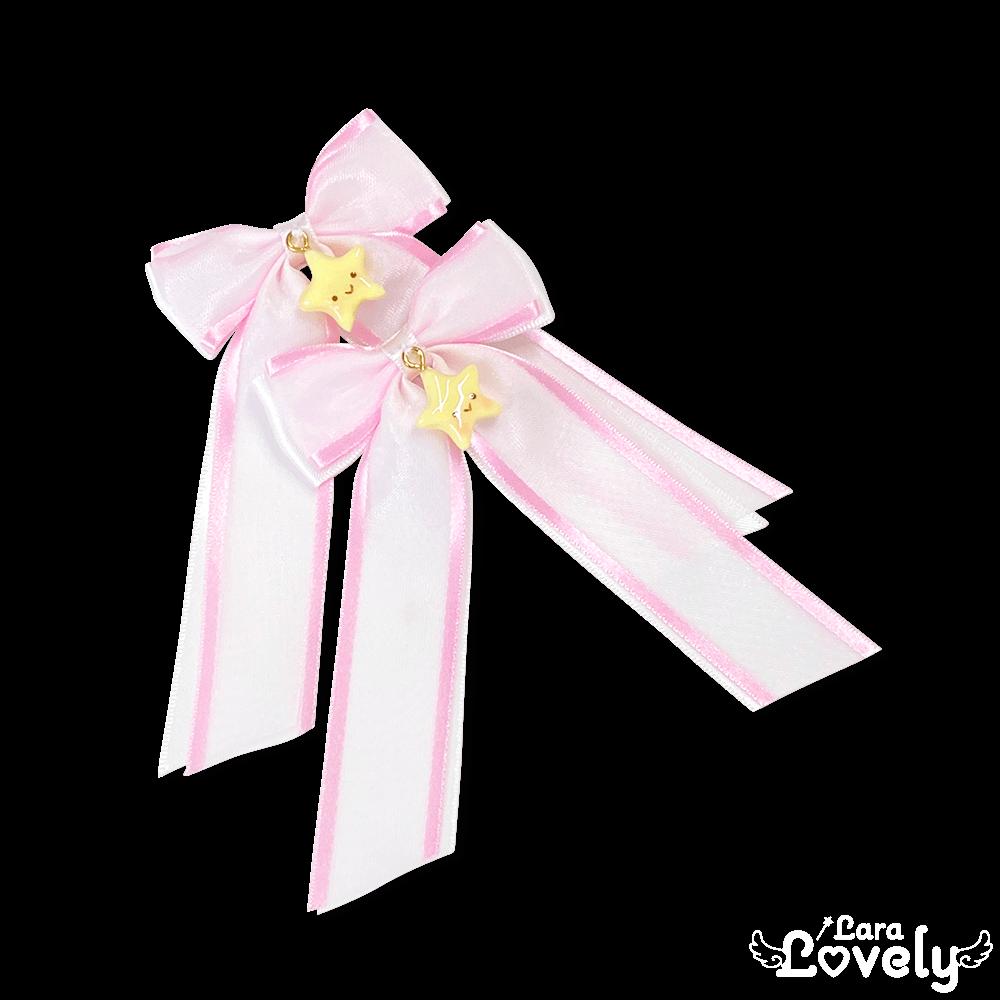 ほしちゃんヘアクリップ(ピンク