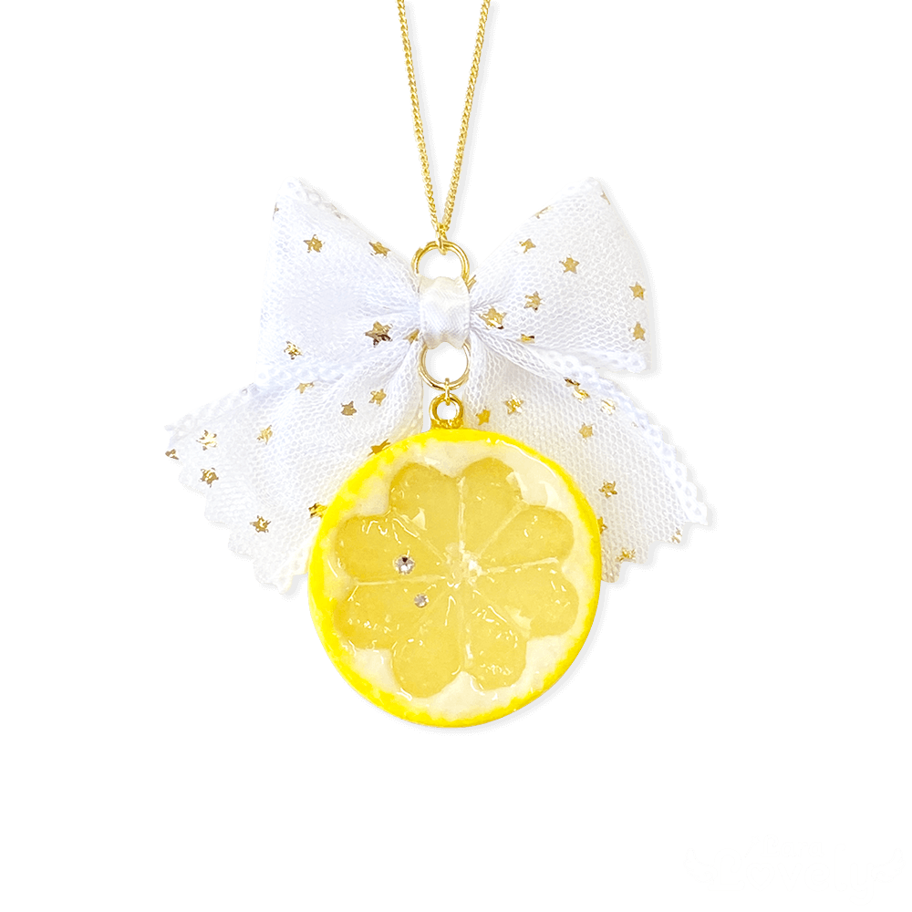 レモンネックレス
