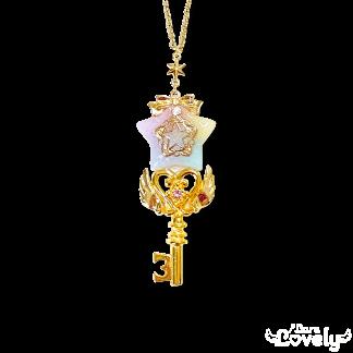 星の鍵ネックレス