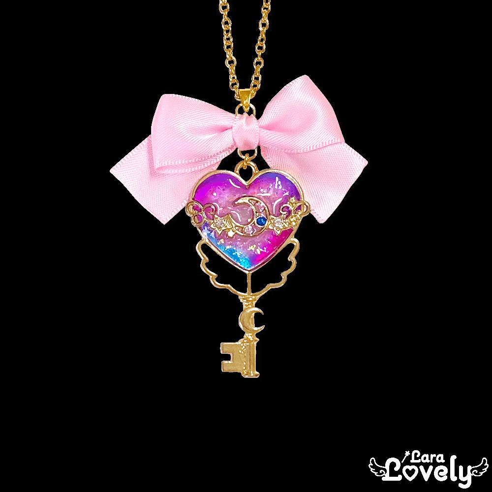 まじかるカラー×魔法の鍵ネックレス