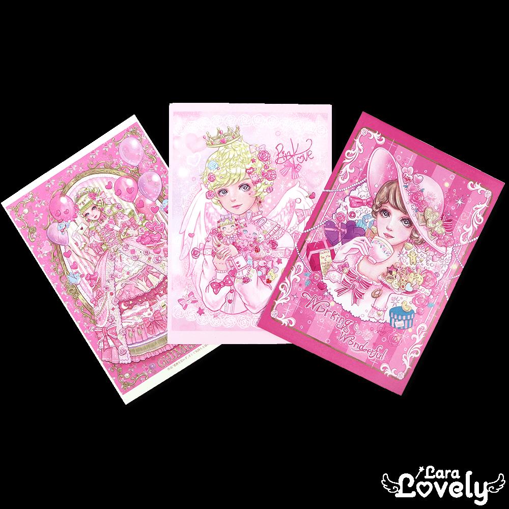 夢の招待状3枚 Fセット(両面印刷ポストカード)