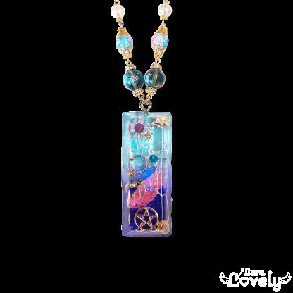 【2021SS】翆色水晶のうるつやネックレス(大)